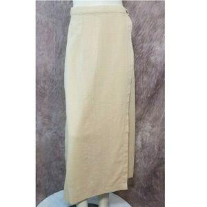 Patagonia Organic Cotton Maxi Wrapper Skirt